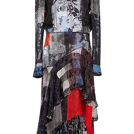 PREEN BY THORNTON BREGAZZI - FW2015 Agata Dress