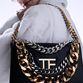 TOM FORD - PALMELLATO TRIPLE CHAIN BAG