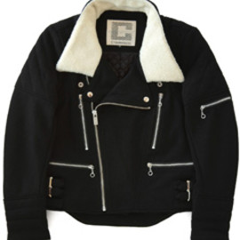 CYDERHOUSE - Wool House JKT (black)