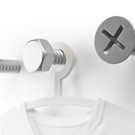Qualy - Screw Collection Wall Hooks