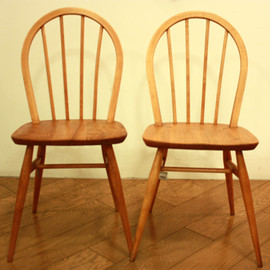 ERCOL  - HOOPBACK CHAIR