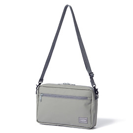 "HEAD PORTER - ""VAPOR"" SHOULDER BAG GREY"