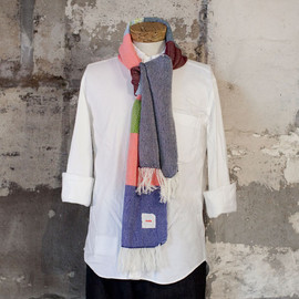 hola - hola one-off wool cotton stole slim 002