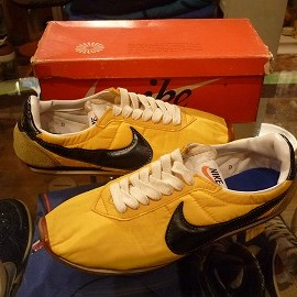 "NIKE - 「<used>70's NIKE NEW BOSTON yellow/black""made in JAPAN"" W/BOX size:US8 100000yen」完売"