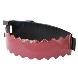 TOGA PULLA - Leather Belt (black/red)