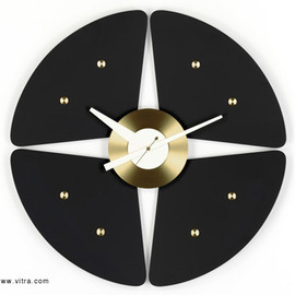 Vitra Design Museum - Petal Clock Black