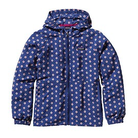 Patagonia - Kids\' Baggies Jacket - Daisy Dots: Channel Blue DACB
