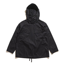 ENGINEERED GARMENTS - Cagoule Shirt-Cotton Nano Twill-Black