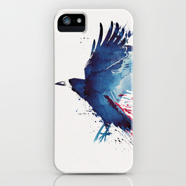 Bloody Crow iPhone Case
