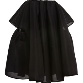 SIMONE ROCHA - Black Neoprene Skirt