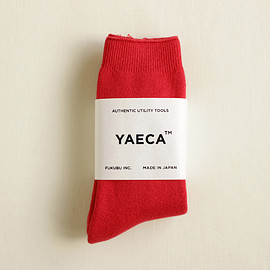YAECA - Cotton Socks - smooth