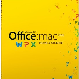 microsoft - MS Office for Mac 2011 Home&Student ファミリーパック