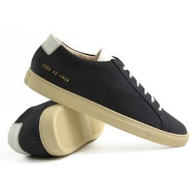 common projects - achilles vintage navy COMMON PROJECTS ACHILLES VINTAGE | TRES BIEN 15% VOUCHER FOOTWEAR