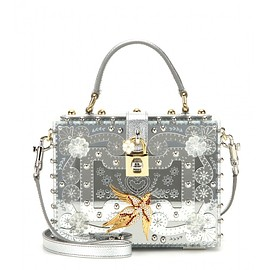 DOLCE&GABBANA - Dolce Large embellished shoulder bag