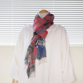 tamaki niime by 玉木新雌 - Roots Shawl Wool Middle