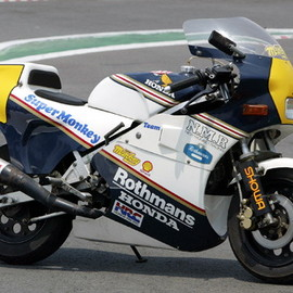 Honda - Monkey NSR Replica Rothmans Color