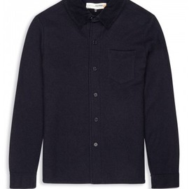 Ben Sherman - Plectrum Felted Shirt with Cord Collar