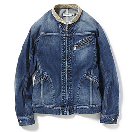 nonnative - RANCHER BLOUSON C/P 12oz DENIM STRETCH VW
