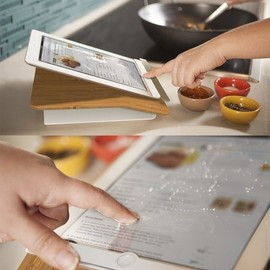 quirky - Prep Step - kitchen iPad stand