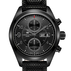 Hamilton - Khaki Field Auto Chrono - Full Black