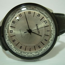 Raketa - world time