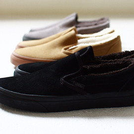VANS - Classic Slip-On Sherpa - Black