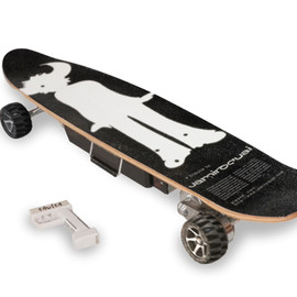 Jamiroquai's electric skateboard