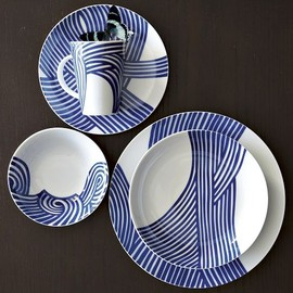 west elm - Wave Dinnerware Set