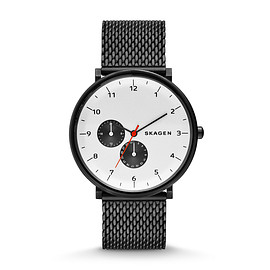Skagen - Hald Steel Mesh Watch (GREY/WHITE)