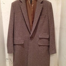 RYU - Fine pattern chesterfield coat