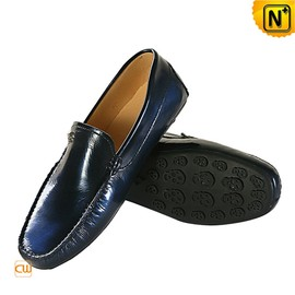 Cwmalls - Vienna Mens Driving Shoes Penny Loafers CW740033