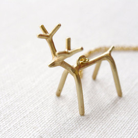 apocketofwhimsy - My Deer Friend necklace