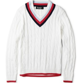 Brooks Brothers - Cable-Knit Cotton Sweater