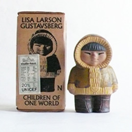 Lisa Larson - Gustavsberg All World Children North Vintage