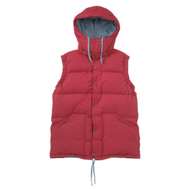 visvim - ADVENTURA DOWN VEST