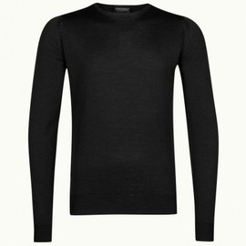 John Smedley - Cleves In Black, Pullover