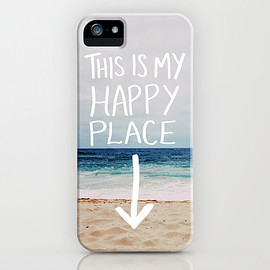 Society6 - 画像1: My Happy Place (Beach) by Leah Flores