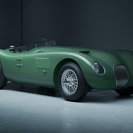 Le Mans-Spec jaguar C-Type - jaguar