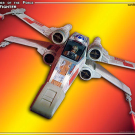 kenner - power of the force X-Wing Fighter