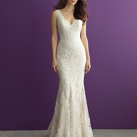 Allure Bridals 2956 unique bridal gown