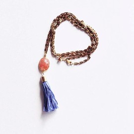 MION - tassel necklace A