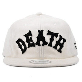 MISHKA - OLDE SCHOOL NEW ERA 1920 STRAPBACK (White/HO151719)