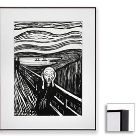 Edvard Munch - The Scream,Matted Print