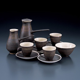 Hans coper&Lucie Rie coffee set