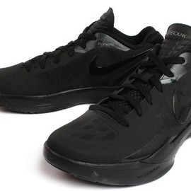 Nike - NIKE ZOOM HYPERDUNK LOW 2011 LIMITED EDITION for NONFUTURE Black/Black