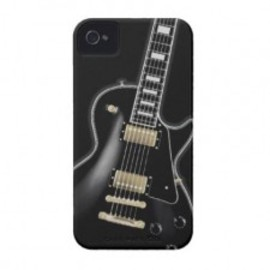 mawwwww.com - Black Guitar iPhone4/4Sケース