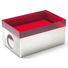 MoMA - PAGE 1Business Card Holder,Red Lid