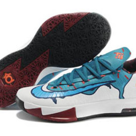"Nike Zoom KD VI ""Ice Cream"" White Teal"