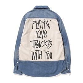 Stussy Women meets SLY - Playing Love Denim Shirt