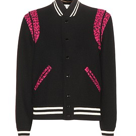 SAINT LAURENT - Resort 2016 Wool bomber jacket